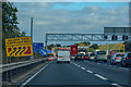SP9636 : Central Bedfordshire : M1 Motorway by Lewis Clarke