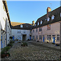 TF6119 : King's Lynn: Hampton Court - looking east by John Sutton