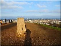 NT2674 : Triangulation pillar on Calton Hill, Edinburgh by John Ferguson