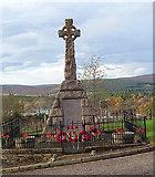 NJ1835 : War Memorial by Anne Burgess