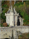 NJ1835 : Ballindalloch South Lodge by Anne Burgess