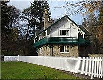 NJ1835 : Swiss Cottage by Anne Burgess