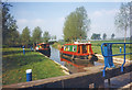 TL7508 : In Little Baddow Lock by Des Blenkinsopp