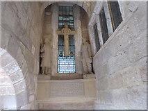 SE2768 : War memorial in Fountains Hall by Marathon