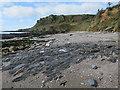 SX7836 : Beach near East Prawle  by Hugh Venables