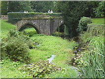 SE2768 : Bridge over the River Skell, Fountains Abbey by Marathon