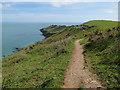 SX8137 : Southwest Coast Path to Start Point by Hugh Venables