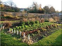 SS6140 : Walled garden at Arlington Court by Roger Cornfoot