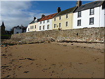 NO5603 : The Sea Wall below Castle Street, Anstruther Easter by Richard Law
