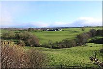 NS5020 : Ochiltree Mains Farm in Sunlight by Billy McCrorie