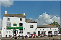 SK5815 : The Waterside Inn at Mountsorrel in Leicestershire by Roger  Kidd