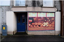 H6357 : Shop with virtual front, Main Street, Ballygawley by Kenneth  Allen