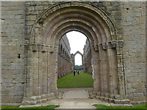 SE2768 : The Nave of Fountains Abbey by Marathon