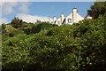 SX8760 : Houses above Great Parks valley by Derek Harper