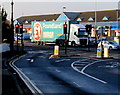 ST3090 : Poundland articulated lorry, Malpas Road, Newport by Jaggery
