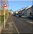 ST2490 : Warning sign - elderly people, Lower Wyndham Terrace, Risca by Jaggery