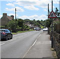 ST6979 : Warning sign - elderly people, Westerleigh Road, Westerleigh by Jaggery