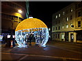 SZ0891 : Bournemouth: a big bauble in Old Christchurch Road : Week 47
