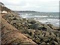 NT3496 : East Wemyss coastal defences by Graham Hogg