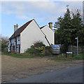 TL3142 : Litlington: the corner of Burr's Lane by John Sutton