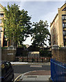 TQ3480 : Steps to Discovery Walk and Tobacco Dock, Wapping by Robin Stott