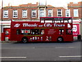 J3474 : Titanic and City Tours bus, Belfast by Kenneth  Allen