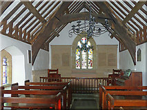 SH5571 : The interior of St Tysilio's Church, Menai Bridge, Anglesey by Robin Drayton