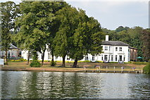SU7682 : View across River Thames at Henley by N Chadwick