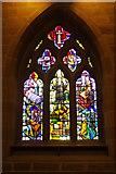SK2176 : Plague Window - Eyam Church by Stephen McKay