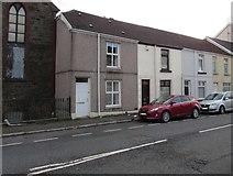 SS6696 : High numbers near a former chapel, Neath Road, Plasmarl, Swansea by Jaggery