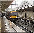 ST3088 : Nottingham train at platform 3, Newport Station by Jaggery
