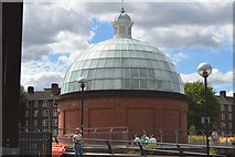 TQ3877 : Greenwich Foot Tunnel Southern Entrance Building by N Chadwick