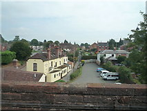SO7975 : View from Bewdley Viaduct by Fabian Musto