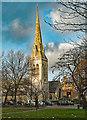 TQ3090 : Wood Green : St Michael's Church by Julian Osley