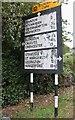 SU1688 : Pre-Worboys directions on Beechcroft Road, Kingsdown by David Howard