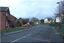 NZ3372 : Thornberry Drive, Monkseaton by Graham Robson