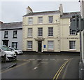 SO0428 : W J James & Co office, 10 Wheat Street, Brecon by Jaggery