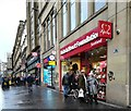 NS5865 : British Heart Foundation shop, Union Street by Thomas Nugent