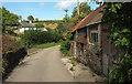 SX8075 : Lane near Woodgate Cottages by Derek Harper