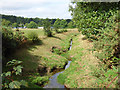 SX0552 : Drainage channel on the Tregehan estate by Stephen Craven