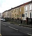 SS6696 : Row of houses above Neath Road, Plasmarl, Swansea by Jaggery
