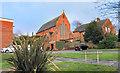 TQ3869 : Church of St Barnabas, Oakhill Road by Des Blenkinsopp