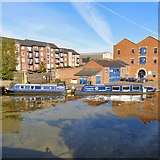 SJ9398 : Reflections in the Ashton Canal by Gerald England