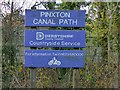 SK4352 : Pinxton Canal Footpath by Alan Murray-Rust