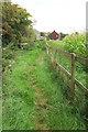 ST5860 : Footpath to Knowle Hill by Derek Harper