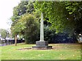 SJ8495 : World War One Memorial in Whitworth Park by Gerald England