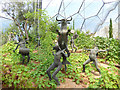 SX0554 : Eden Project - Mediterranean biome with Dionysius by Stephen Craven