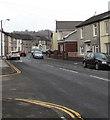 ST1494 : Commercial Street, Ystrad Mynach by Jaggery