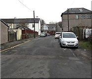 ST1494 : Unnamed side road towards Commercial Street, Ystrad Mynach by Jaggery