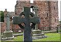 NU1241 : Lindisfarne Priory by Mat Fascione